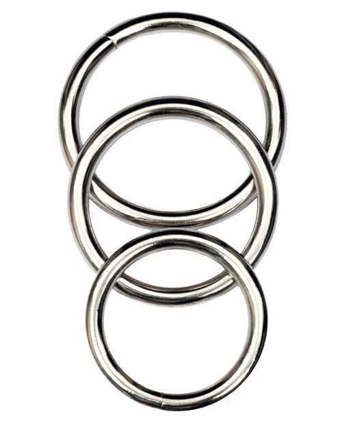 Master Series Trine Steel C-Ring Collection