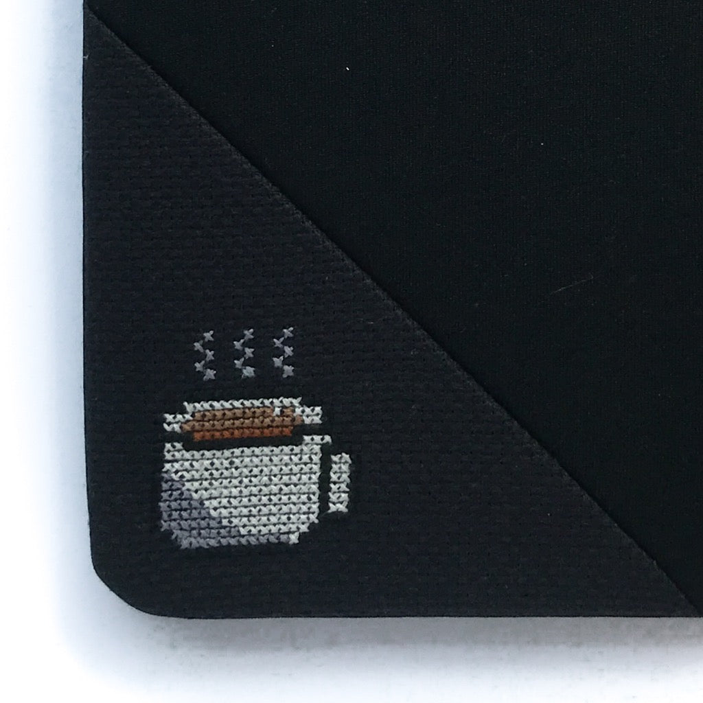 Funda artesanal para iPad mini - Cafe