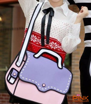 2d Handbag - thepink-label