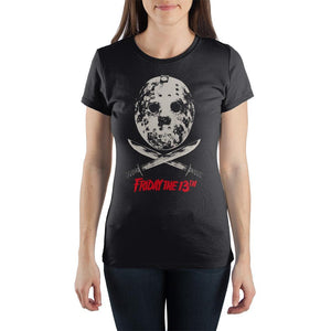 Friday The 13th Crew Neck Short Sleeve Women's T Shirt