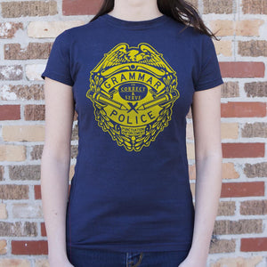 Grammar Police T-Shirt (Ladies)