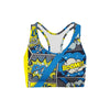 Comic Strips Sports Bra