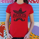 Adios Bitchachos T-Shirt (Ladies)