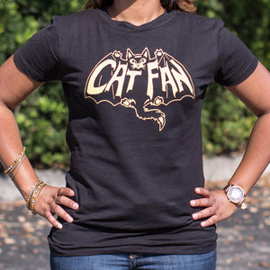 Cat Fan T-Shirt (Ladies)