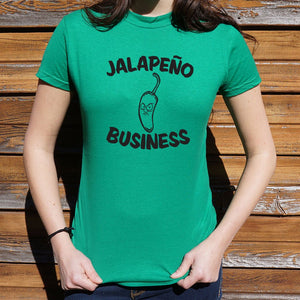 Jalapeño Business T-Shirt (Ladies)
