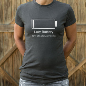 Low Battery T-Shirt (Ladies)
