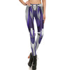 Steel Plated Printed Leggins
