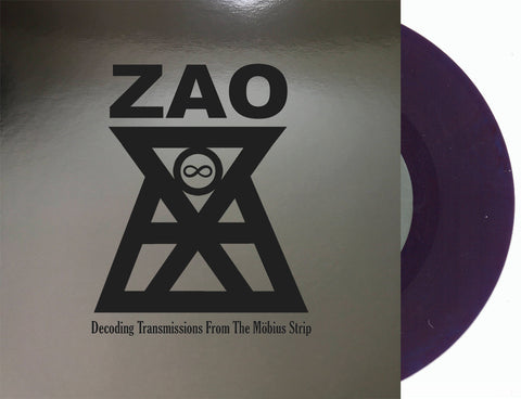 "Zao - Decoding Transmissions From The Mobius Strip (Limited Edition Grape Soda 7"" Vinyl x/450)"