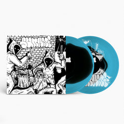 "Sunami - Sunami + Demonstration (Limited Edition Black Inside Blue 12"" Vinyl w/ Silkscreened B-Side)"