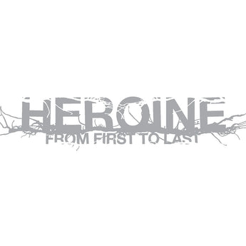 From First To Last - Heroine (Hot Topic Exclusive Silver Vinyl LP) - Rare Limiteds