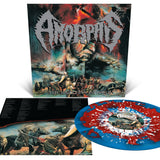 Amorphis - The Karelian Isthmus (Limited Edition Red / Blue Merge w/ Silver & White Splatter Vinyl LP x/200) - Rare Limiteds