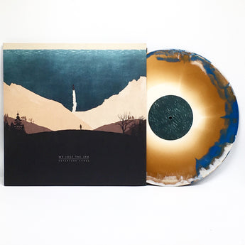 We Lost The Sea - Departure Songs (Limited Edition Bone White / Bronze / Aqua Blue Merge Vinyl 2xLP x/300)
