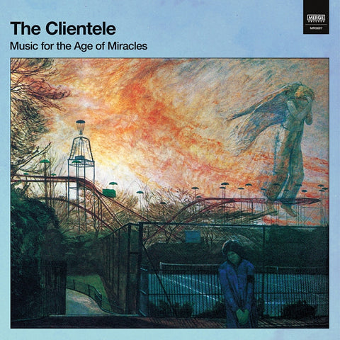 "The Clientele - Music For The Age of Miracles (Deluxe Edition Blue Swirl Vinyl LP x/250 + 7"")"