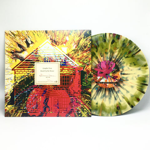 Genghis Tron - Board Up The House (Limited Edition Swamp Green & Mustard Merge w/ Rainbow Splatter Vinyl LP x/200)