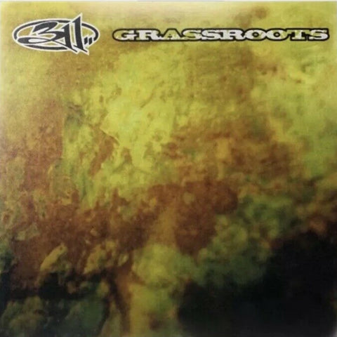 311 - Grassroots (25th Anniversary Edition Clear w/ Smoke Vinyl LP x/500)