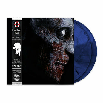 Capcom Sound Team - Resident Evil [Original Soundtrack] (Limited Edition 180-GM Blue & Black Smokey Marble Vinyl 2xLP)