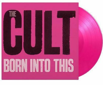The Cult - Born Into This (Music On Vinyl Exclusive 180-GM Pink Vinyl LP x/2000)