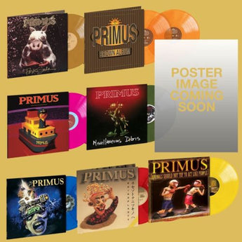Primus - Colored Vinyl + Signed Poster Bundle (Limited Edition Bundle)