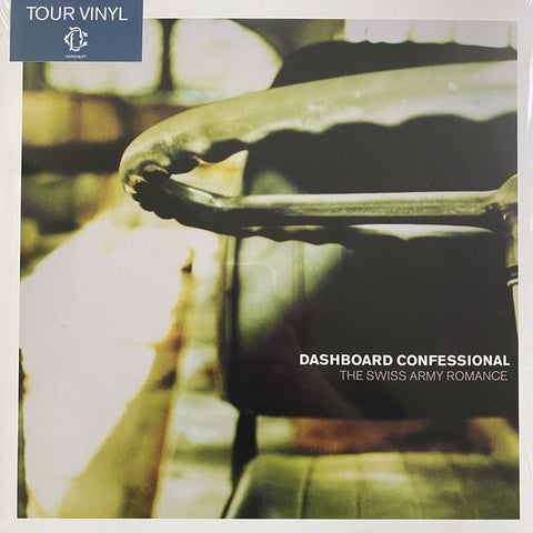 Dashboard Confessional - The Swiss Army Romance (Tour Exclusive Red & Clear Pinwheel Vinyl LP)