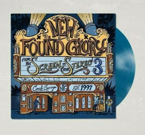 "New Found Glory - From The Screen To Your Stereo 3 (Urban Outfitters Exclusive Turquoise 10"" Vinyl EP x/300)"