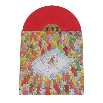 Dance Gavin Dance - Happiness (Limited Edition Red Marble Vinyl LP x/1000) - Rare Limiteds