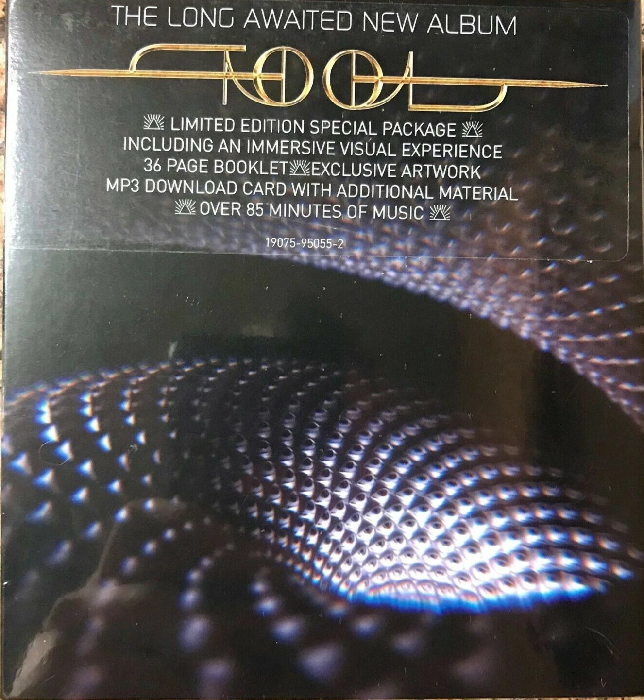 Tool - Fear Inoculum (Limited Edition CD - Holographic Screen)