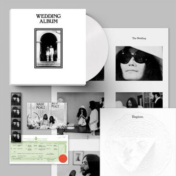 John & Yoko - Wedding Album (50th Anniversary Edition Clear Vinyl Box Set x/300)