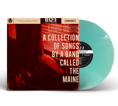 The Maine - Less Noise (Limited Edition 180-GM Sea Glass Vinyl LP x/500)