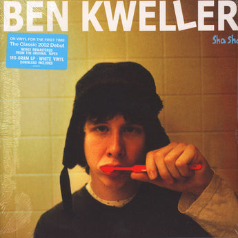 Ben Kweller - Sha Sha (Record Store Day 2018 Exclusive 180-GM White Vinyl LP x/1200) - Rare Limiteds
