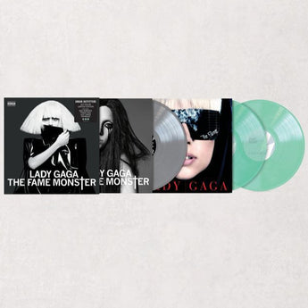 Lady Gaga - The Fame Monster (Deluxe Edition Coke Bottle Clear + Silver Vinyl 3xLP Box Set)