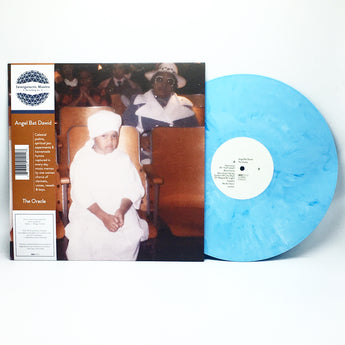 Angel Bat Dawid - The Oracle (Limited Edition Crystal Blue Vinyl LP x/333)
