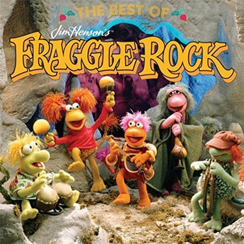 The Fraggles - The Best of Jim Henson's Fraggle Rock (35th Anniversary Yellow In Clear w/ Multicolor Splatter Vinyl LP x/500)