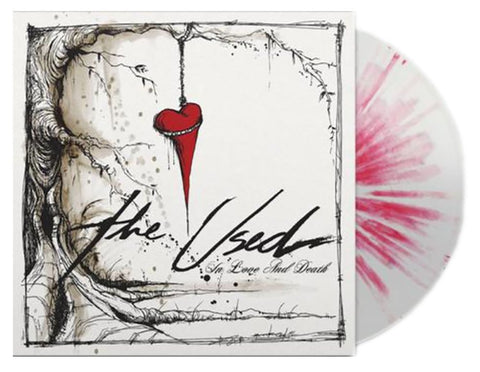 The Used - In Love And Death (Smartpunk Exclusive White w/ Red Splatter Vinyl 2xLP x/500)