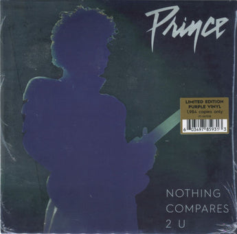 "Prince - Nothing Compares 2 U (Limited Edition Purple 7"" Vinyl x/1984)"