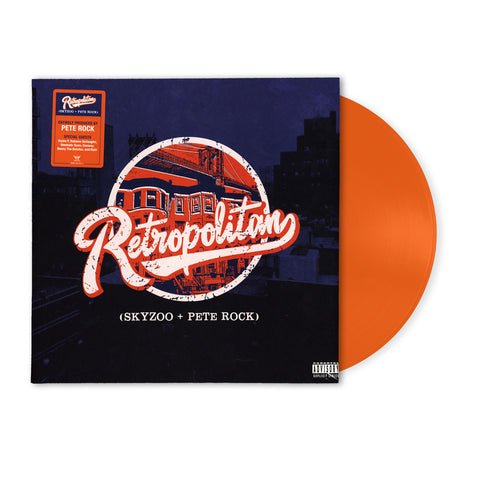 Skyzoo & Pete Rock - Retropolitan (Limited Edition Translucent Orange Vinyl LP x/500)