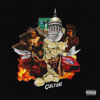Migos - Culture (Limited Edition Red Vinyl 2xLP x/500) - Rare Limiteds