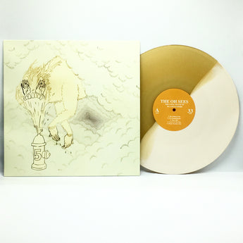 Thee Oh Sees - The Cool Death Of Island Raiders (Limited Edition Half Cream Half Butterscotch Vinyl LP)