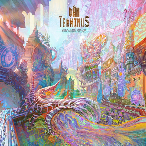 Dan Terminus - Automated Refrains (Limited Edition Black & Green + White & Green Swirl Vinyl 2xLP) - Rare Limiteds