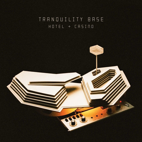 Arctic Monkeys - Tranquility Base Hotel + Casino (Deluxe Edition 180-GM Gold Vinyl LP x/2044) - Rare Limiteds