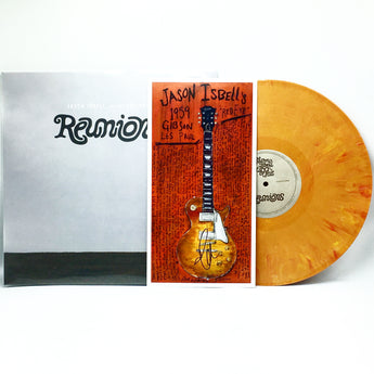 "Jason Isbell & The 400 Unit - Reunions (Limited Edition Orange Dreamsicle Colored Vinyl LP w/ Autographed ""Red Eye"" Print)"