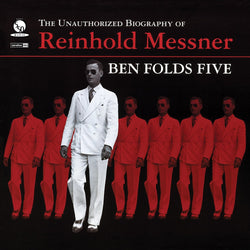 Ben Folds Five - Unauthorized Biography of Reinhold Messner (Limited Edition 180-Gram Opaque Red Vinyl LP x/500) - Rare Limiteds