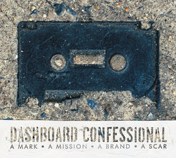 Dashboard Confessional - A Mark A Mission A Brand A Scar (Limited Edition Blue Vinyl LP x/3000) - Rare Limiteds