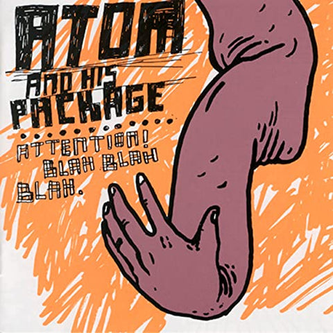 Atom & His Package - Attention! Blah Blah Blah (Limited Edition Clear Vinyl LP)