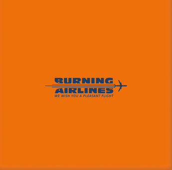 Burning Airlines - We Wish You A Pleasant Flight (Limited Edition Transparent Blue Vinyl 3xLP x/500) - Rare Limiteds