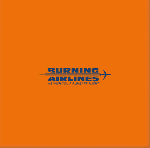 Burning Airlines - We Wish You A Pleasant Flight (Limited Edition Transparent Blue Vinyl 3xLP x/500)