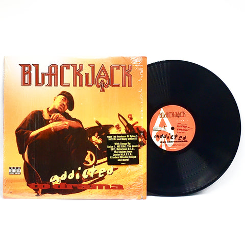 Blackjack - Addicted to Drama (OG 1996 Vinyl LP)
