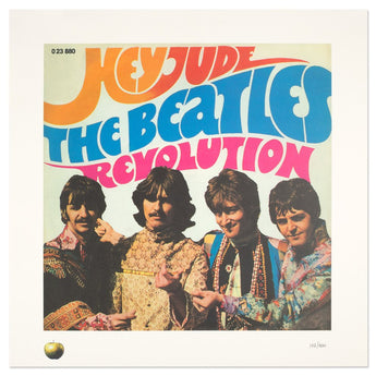 The Beatles - Hey Jude (Hand-Numbered Lithograph x/400)