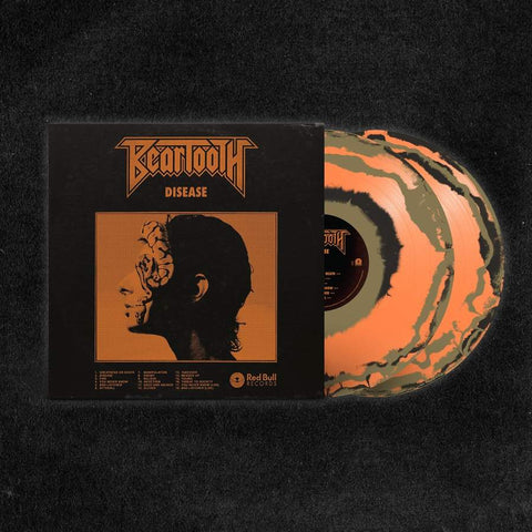 Beartooth - Disease (Deluxe Edition Orange / Black / Beige Color-In-Color Vinyl 2xLP x/500)