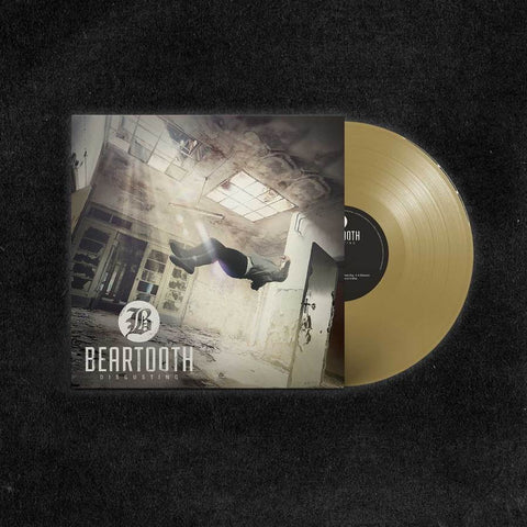 Beartooth - Disgusting (Limited Edition 180-GM Gold Vinyl LP x/500)