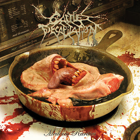 Cattle Decapitation - Medium Rarities - (Hand-Numbered Translucent Orange w/ Yellow, Green & White Splatter Vinyl LP x/100) - Rare Limiteds